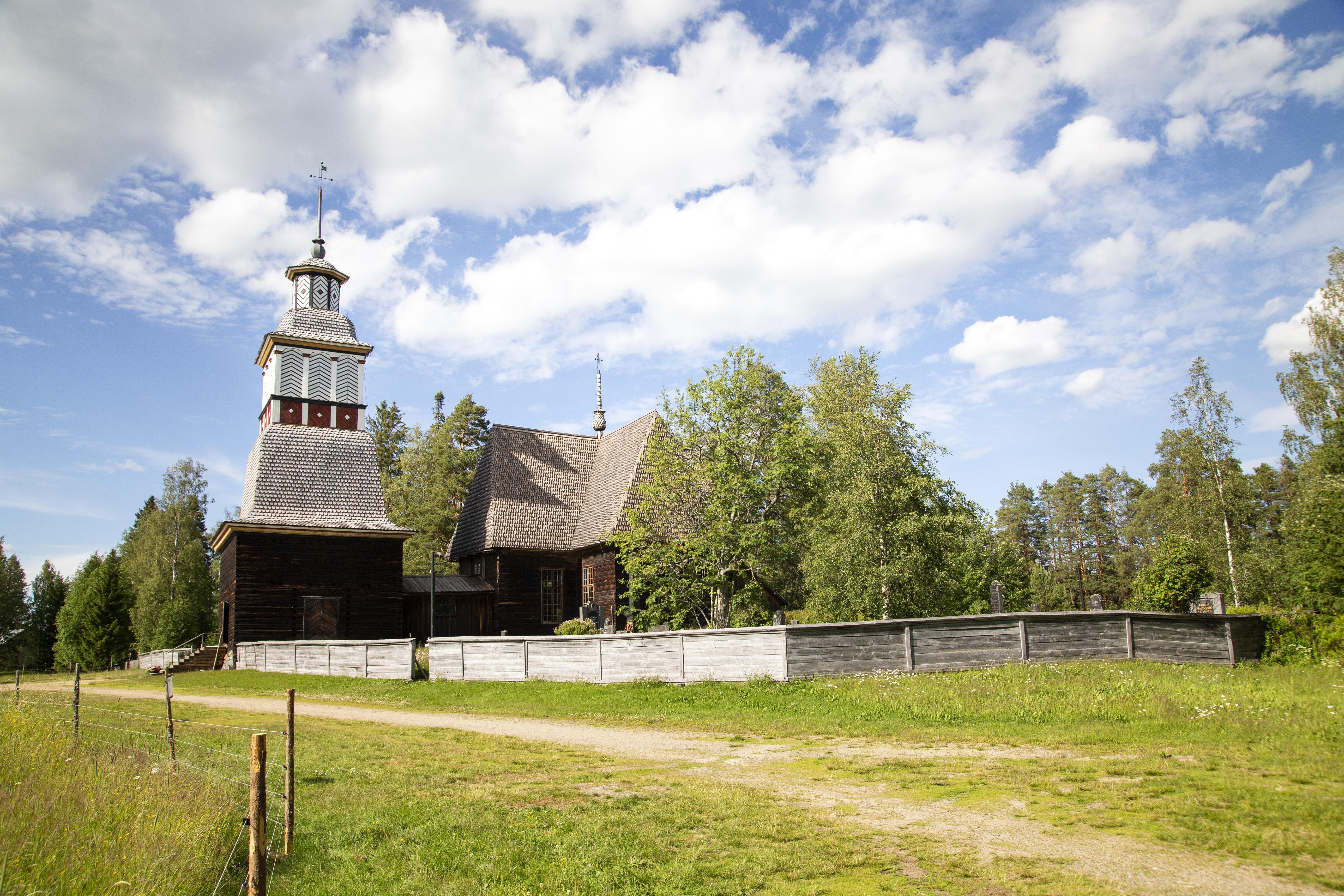 Petäjävesi Old Church summer
